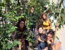 L'équipe du GRAME (Groupe de recherche appliquée en macro écologie) a reçu des arbres pour la campagne Un arbre pour mon quartier.