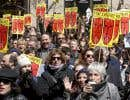 Le MAL et le CQT, entre autres, ont organisé une manifestation, lundi à Montréal, en même temps que l'étude des crédits du ministère de la Culture à Québec pour demander un réinvestissement immédiat de 40millions de dollars dans le CALQ.
