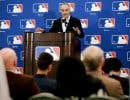 Le commissaire de la Ligue majeure de baseball, Rob Manfred